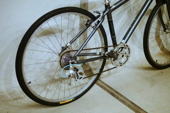ヤフオクで買ったクロスバイクのレストア (5)