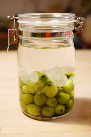 こくわの実(サルナシ)の果実酒の作り方