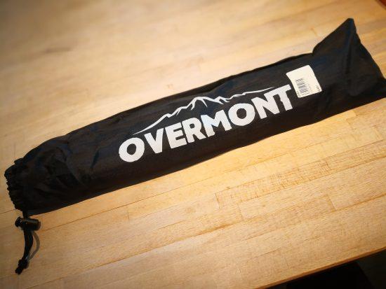 Overmont テントフレーム テントポール アルミ合金製 タープポール 中空ポール 2本セット 収納袋付き 補修ポール付き 分割式 軽量 MAX約360cm/直径8.5mm